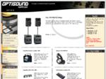Optisound - Ljud Ljus. Försäljning - Uthyrning - Installation