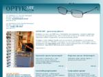 Spawanie, naprawa, sprzedaż opraw, naprawa okularów - OPTYK ART Zakład Optyczny