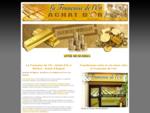 Achat d'or et d'argent à Béziers | Rachat d'or et d'argent à Beziers | La Française de l'or