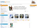 Välkommen till Ord Bok, Internet bokhandel och eget förlag. Här kan du handla billiga böcker