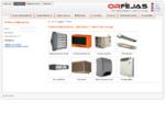 Pramoninė šildymo, vėdinimo ir vėsinimo įranga | UAB quot;Orfėjasquot;