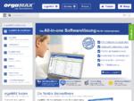 orgaMAX - die Bürosoftware   All-in-one Softwarelösung für Unternehmen