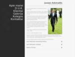 Renginių organizatorius - vedÄ-jas Juozas Adomaitis Galvočius