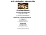 André Palsgårds Orgelside