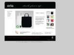 Oria - ekologiska profilkläder och ekologiska tygkassar