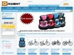 Orident Warenhandel - günstige Kindersitze, Fahrräder, Koffer und vieles mehr