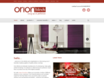 Home - Orion Blinds - hung up on perfection