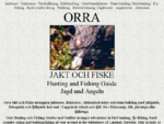 ORRA Jaktresor och Fiskeresor Hunting and Fishing Guides Jagdreisen und Angelreisen