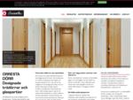 Orresta Dörr - Designade trädörrar och glaspartier