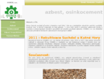 OSINEK, a. s. - azbest, separace, likvidace, recyklace, osinkocement