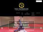 Tren karate og nanbudo i Oslo Karateklubb