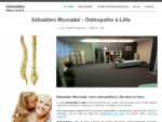 Osteopathe Lille - Cabinet d'osteacute;opathie Seacute;bastien Mercadal (nord, 59)