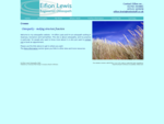 Eifion Lewis - Osteopathy in Swansea, Gorseinon and Carmarthen - Croeso Welcome