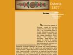 Osteria tipica risotteria panineria 1877