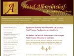 Sächsische Schweiz - Elbsandsteingebirge Urlaubs-Unterkünfte - Hotel Pension Albrechtshof Gohrisch