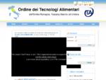 Home - Ordine dei Tecnologi Alimentari dell Emilia Romagna e aggregati