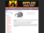 Outlaw Speed Shop Adelaide, car parts, engines, components, motorcycle accessories, performance