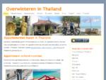 In Thailand, appartementen, huizen, villa en resorts reserveren