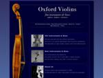 Oxford Violins