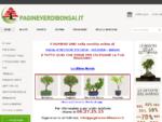 BONSAI | VENDITA | LIBRI TECNICA CURA | VASI | piante - manuali
