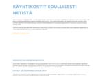 Käyntikortit edullisesti netistä | Painopuoti. fi