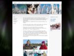 Huskytouren mit Pallas Husky in Lappland in Finnland - Pallas Husky sled dog adventures in Finnish .