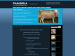 Pambria | White Suffolk, Poll Dorset Rams for sale