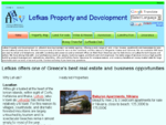 Lefkas Lefkada real estate - land, villas, houses and holiday homes for sale