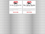 Pan Sport and Corporate Wear and Pan Spray Booths