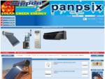 panpsix hellas, kλιματιστικά inverter, συμβατικά, Ηλιακοί φυσικής ροής, Φίλτρα νερού
