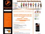 PANZERI-SPORT. com - Individuelle Sportbekleidung