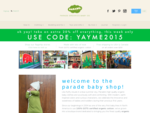 Organic baby clothes by Parade Organics | For the modern eco baby!