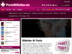 ParisBilletter. no – Billetter til kabareter, attraksjoner og sightseeing i Paris.