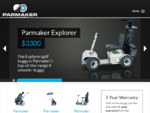 Electric Golf Buggies, Motorised Ride-ons or Battery Powered Walkers - Parmaker