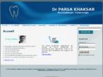 Dr PARSA KHAKSAR   chirurgien dentiste, Parodontologie et Implantologie paris 14ème