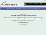 PartFinder. ie - Car Dismantlers