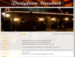 Partyfarm Steenbeek Hellevoetsluis bedrijfsfeesten, bruiloften, verjaardag - Home