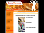 Partymania. cz - Úvodní strana