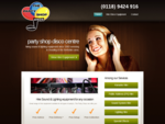 The Party Shop Disco Centre - Mobile Discos in Reading, Berkshire