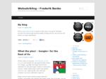 Webudvikling - Frederik Banke - Webudvikling når det skal være gennemtænkt