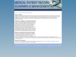 PATIENT RECORD SPECIALISTS | PATIENT DOCUMENT IMAGING | FREE ONLINE QUOTES
