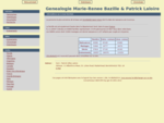 Genealogie Marie-Renee Bazille Patrick Laloire
