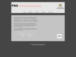 PBS Planning and Building Services || Architectural