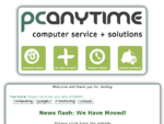 PC Anytime Limited - Computer Repair Service and Sales Christchurch, New Zealand - Your favourite l