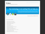 Pc Serv - Premium Technology Support Solutions - Onsite PC Mac support across Sydney ...