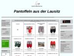 Pantoffeln aus der Lausitz bei PDMH warm, weich und bequem
