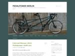 Pedalpower alles rund ums Fahrrad