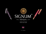 exclusive fine writing instruments collectibles - PENNE SIGNUM
