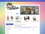 Vendita giochi bambini - Viareggio - Lucca - Pensa