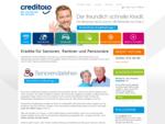 Kredite und Darlehen für Senioren, Rentner, Pensionäre, Kreditvermittlung
